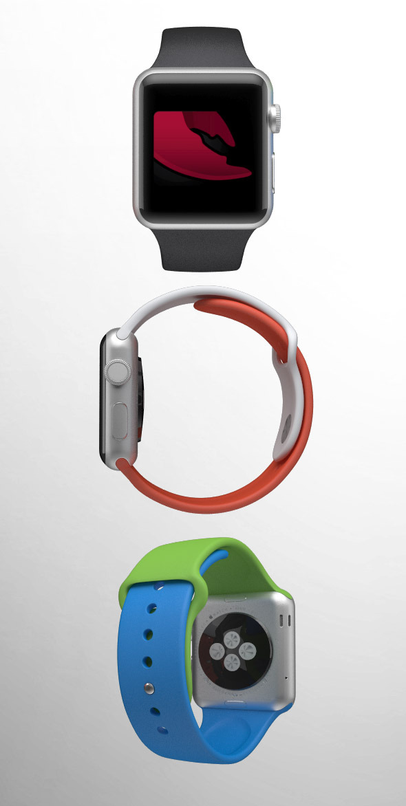 3DOcean Apple Watch Sport 9291106