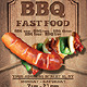 BBQ / Fast Food Flyer - GraphicRiver Item for Sale