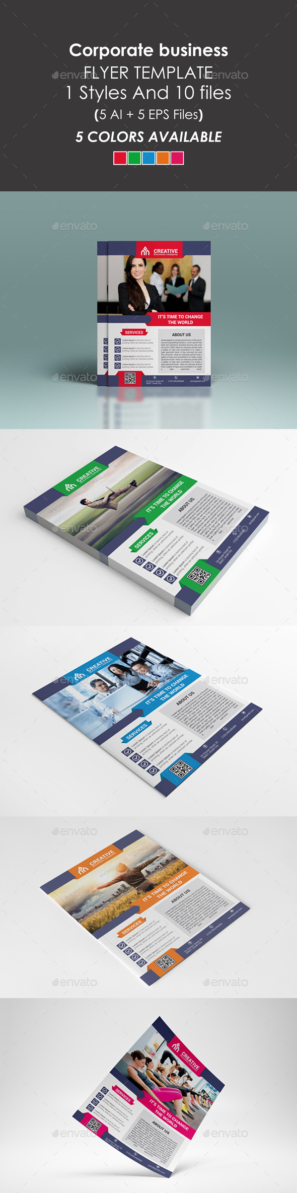 GraphicRiver Corporate Business Flyer 9293342