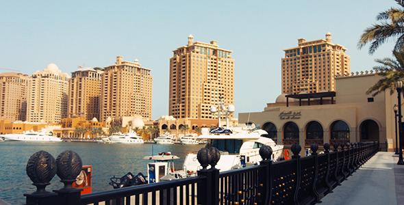 Doha Qatar The Pearl 3 Marina