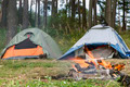 Tents in forest - PhotoDune Item for Sale
