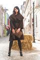 Girl in brown wool jacket - PhotoDune Item for Sale