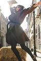 Girl jump on a street - PhotoDune Item for Sale