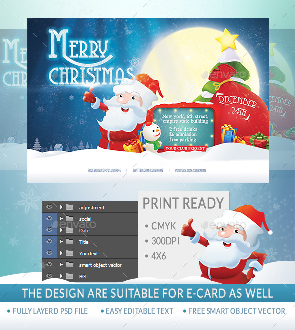 GraphicRiver Merry Xmas 9253568