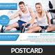 Fitness Postcards Bundle Template - GraphicRiver Item for Sale