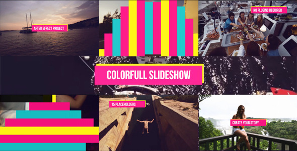 Colorful Slideshow