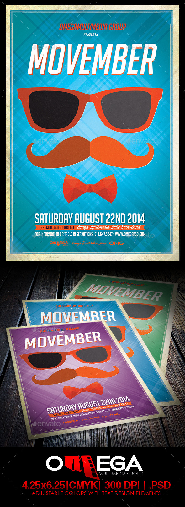 GraphicRiver Movember 9261042