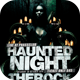 Haunted Night Flyer Template - GraphicRiver Item for Sale