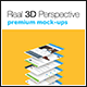 Real 3D Perspective Mock-Ups Phone 6 Edition (III) - GraphicRiver Item for Sale