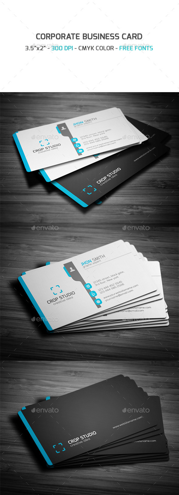 GraphicRiver Corporate Business Card 9295557