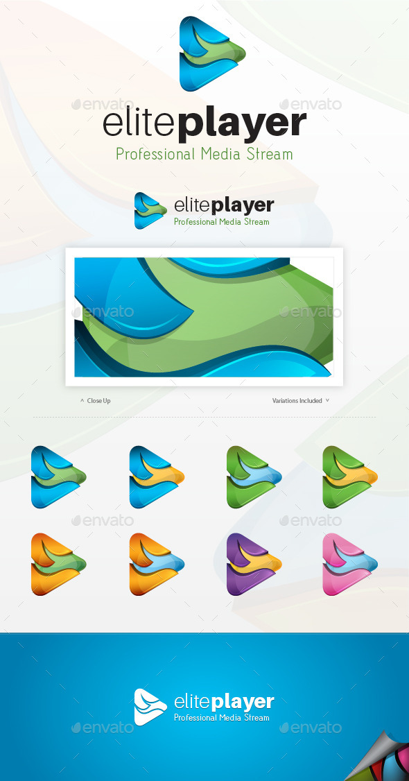 GraphicRiver Elite Player Logo 9295637