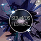 Futuristic Sound Festival Flyer Template  - GraphicRiver Item for Sale