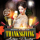 Thanksgiving After Party Flyer Template - GraphicRiver Item for Sale