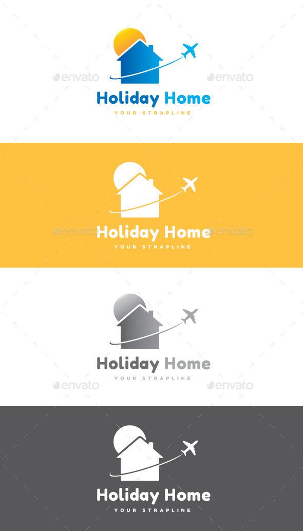 GraphicRiver Holiday Home Logo 9295928