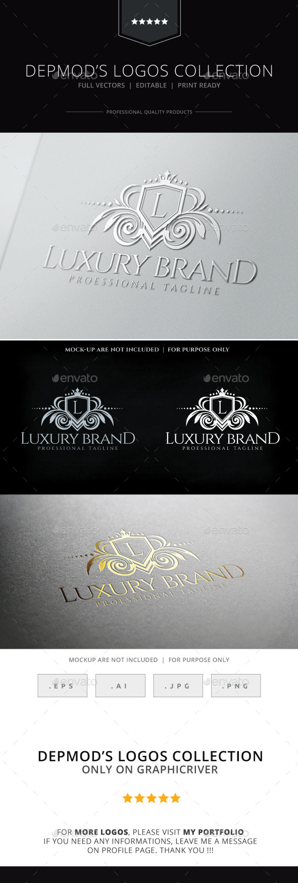 GraphicRiver Luxury Brand Logo 9296226