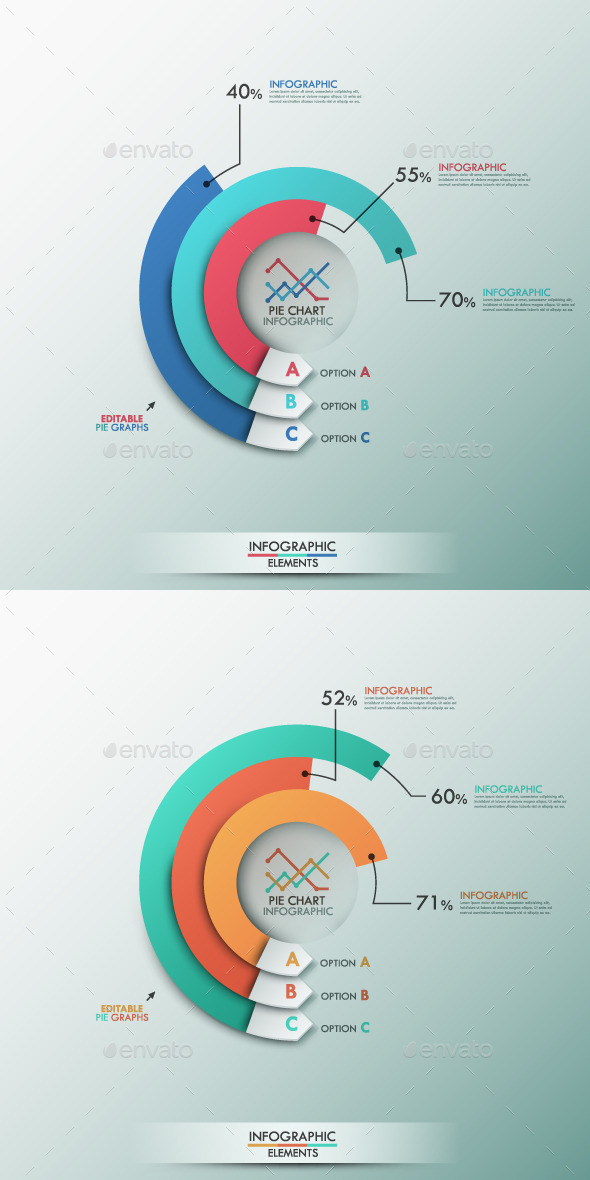 GraphicRiver Smart Infographics Template With Pie Chart 9296618