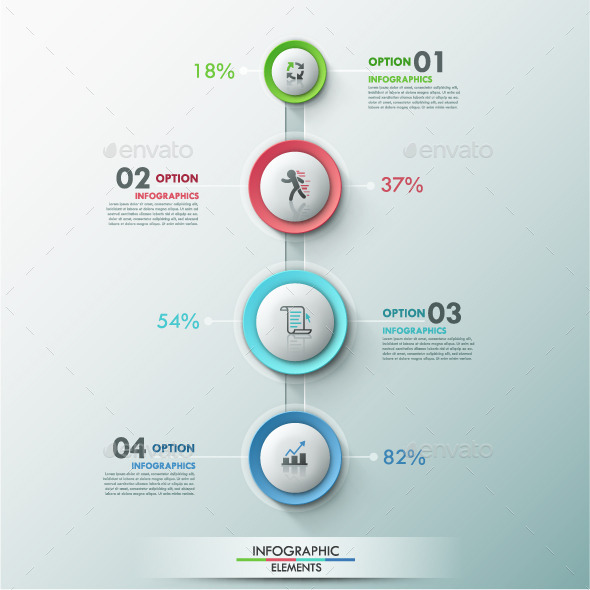 GraphicRiver Modern Infographic Process Template 9296727