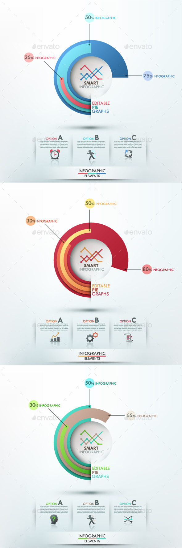 GraphicRiver Smart Infographic Options Template 3 Items 9296734