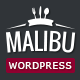 Malibu - One Page Lounge Bar & Cafe Resto WP Theme