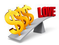 Money Outweighs Love - PhotoDune Item for Sale