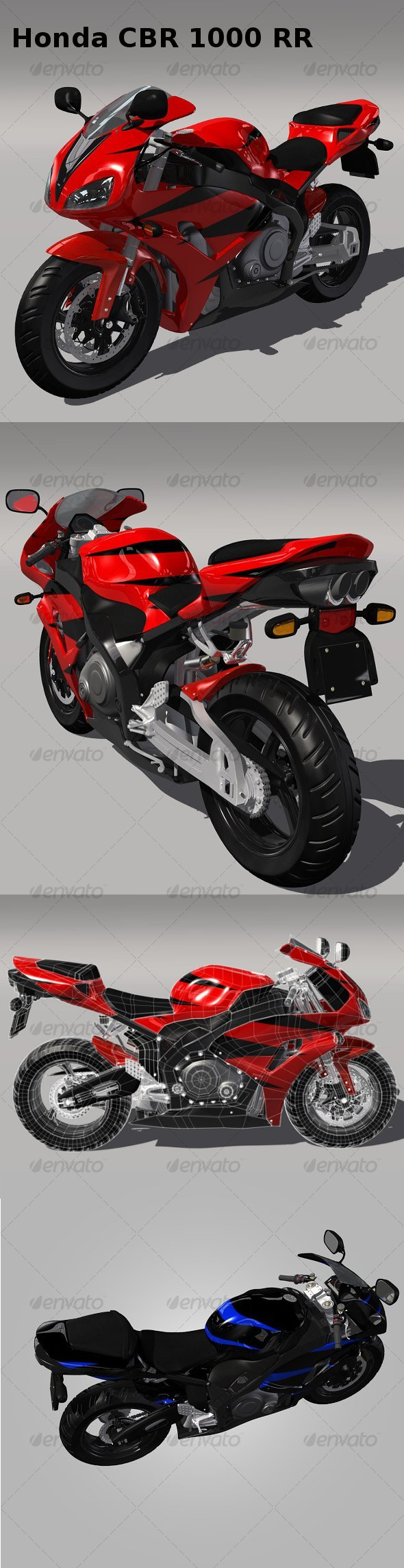 3DOcean Honda CBR 1000 RR 119445