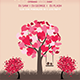 Love Tree Flyer - GraphicRiver Item for Sale