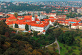 Aerial view over Strahov Monastery in Prague, Czech Republic - PhotoDune Item for Sale
