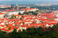 Aerial view over Prague Castle in Prague, Czech Republic - PhotoDune Item for Sale
