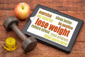 lose weight - tips on a tablet - PhotoDune Item for Sale