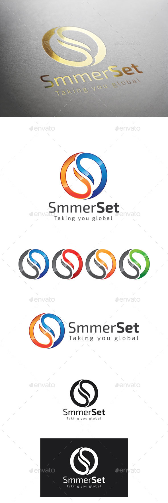 GraphicRiver SmmerSet Logo 9298992