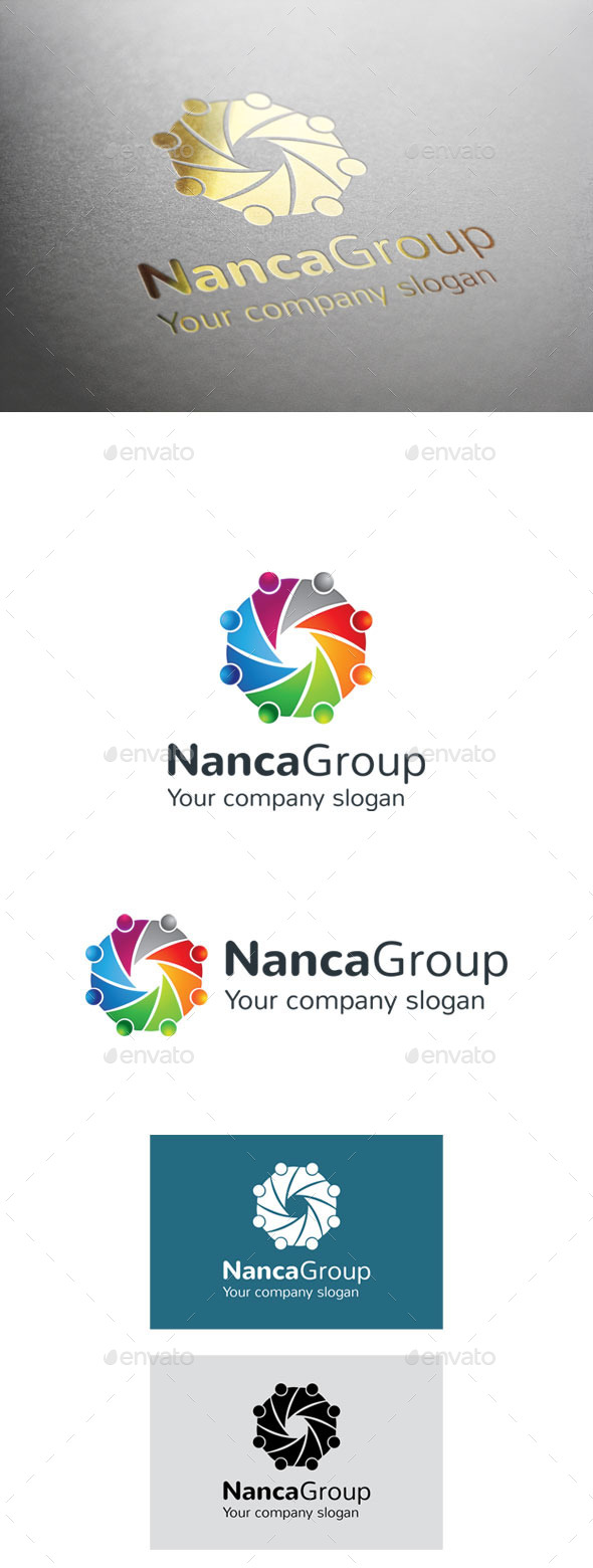 GraphicRiver NancaGroup Logo 9299094