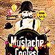 Mustache Contest Party | Flyer Template PSD - GraphicRiver Item for Sale