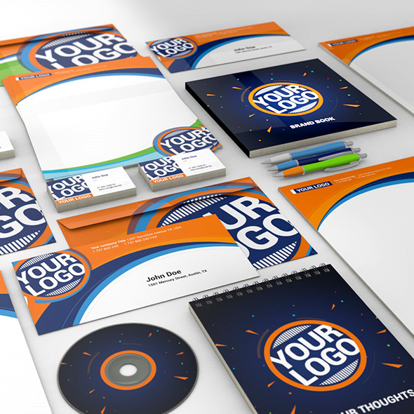 3DOcean Corporate Identity Showcase 9299286