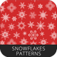Snowflakes Seamless Pattern - GraphicRiver Item for Sale