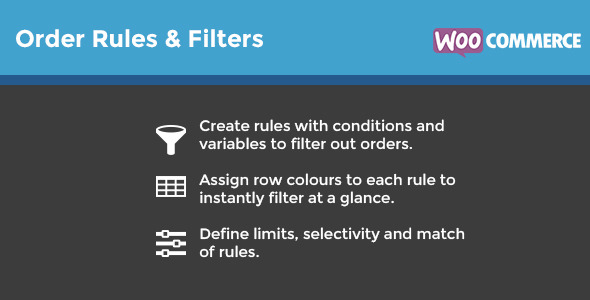 CodeCanyon WooCommerce Order Rules & Filters 9299494