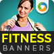 Health & Fitness Event Banners - GraphicRiver Item for Sale