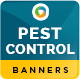 Pest Control Banners - GraphicRiver Item for Sale