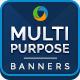 Multi Purpose Banner Set - GraphicRiver Item for Sale