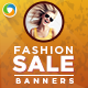 Fashion Banners Design Set - GraphicRiver Item for Sale