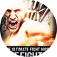 The Fighter Fight Night Flyer - GraphicRiver Item for Sale