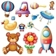 Set of Different Toys - GraphicRiver Item for Sale