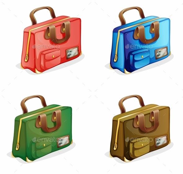 GraphicRiver Suitcases 9299734