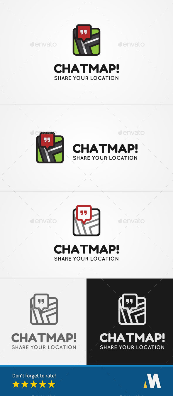 GraphicRiver Chat Map or Share Location 9299806