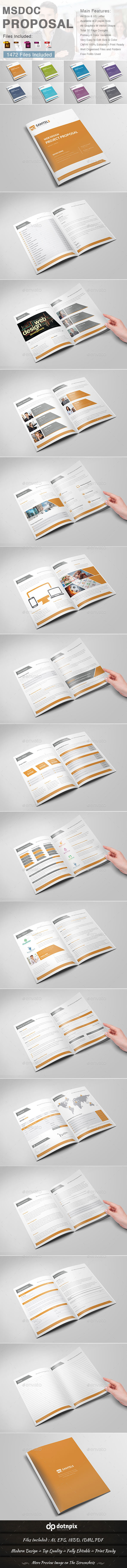 GraphicRiver Msdoc Proposal 9242000
