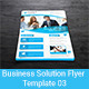 Business Solution Flyer Template 03 - GraphicRiver Item for Sale