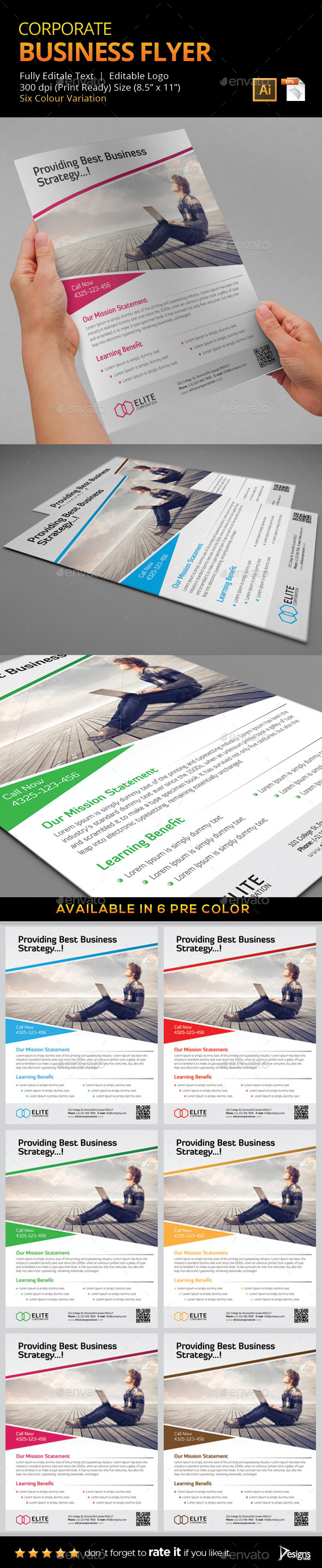 GraphicRiver Flyer Multipurpose Business Flyer 6 9301451