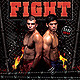 Flyer Fight Night - GraphicRiver Item for Sale