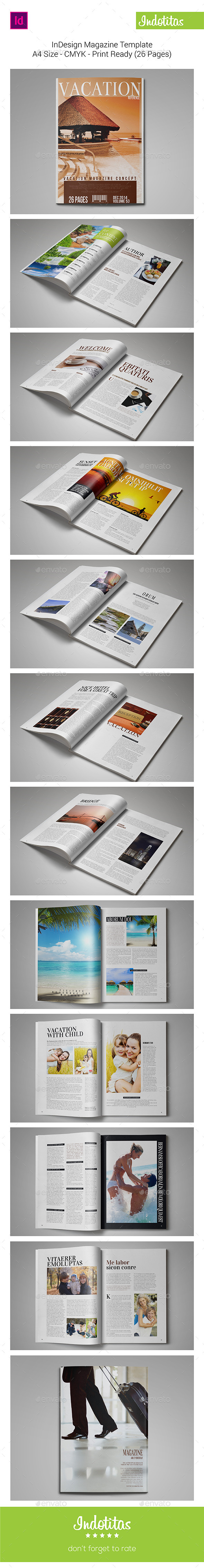 GraphicRiver InDesign Magazine Template 9301689