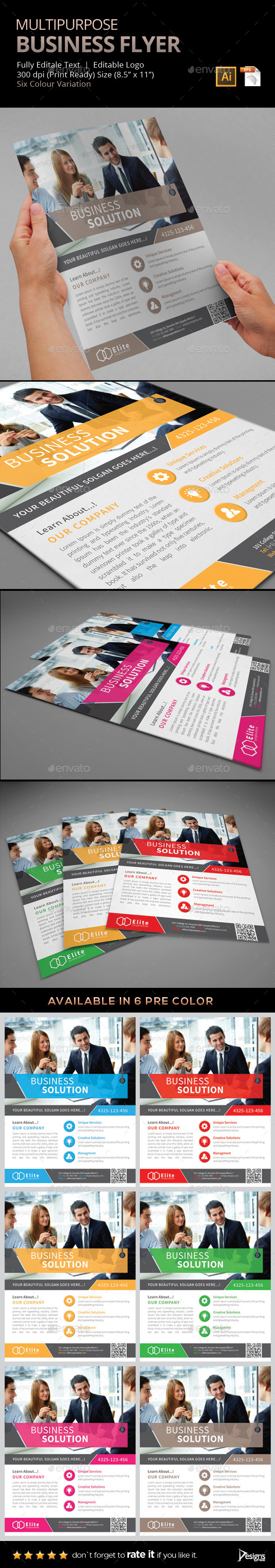 GraphicRiver Flyer Multipurpose Business Flyer 7 9301791