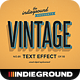 Retro Vintage Text Effects Vol. 2 - GraphicRiver Item for Sale